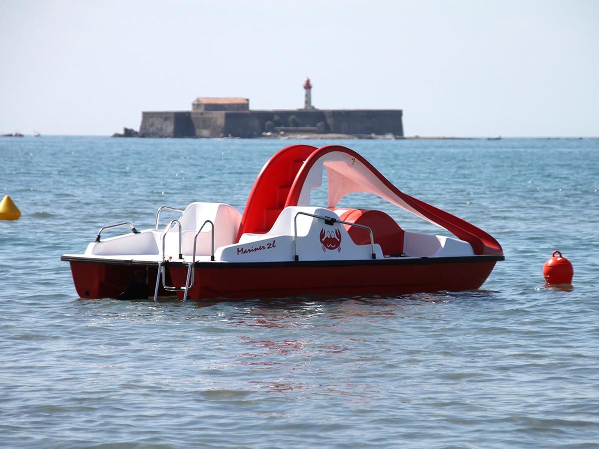 Plage privée Côté Mer au Cap d'Agde - Activités nautiques