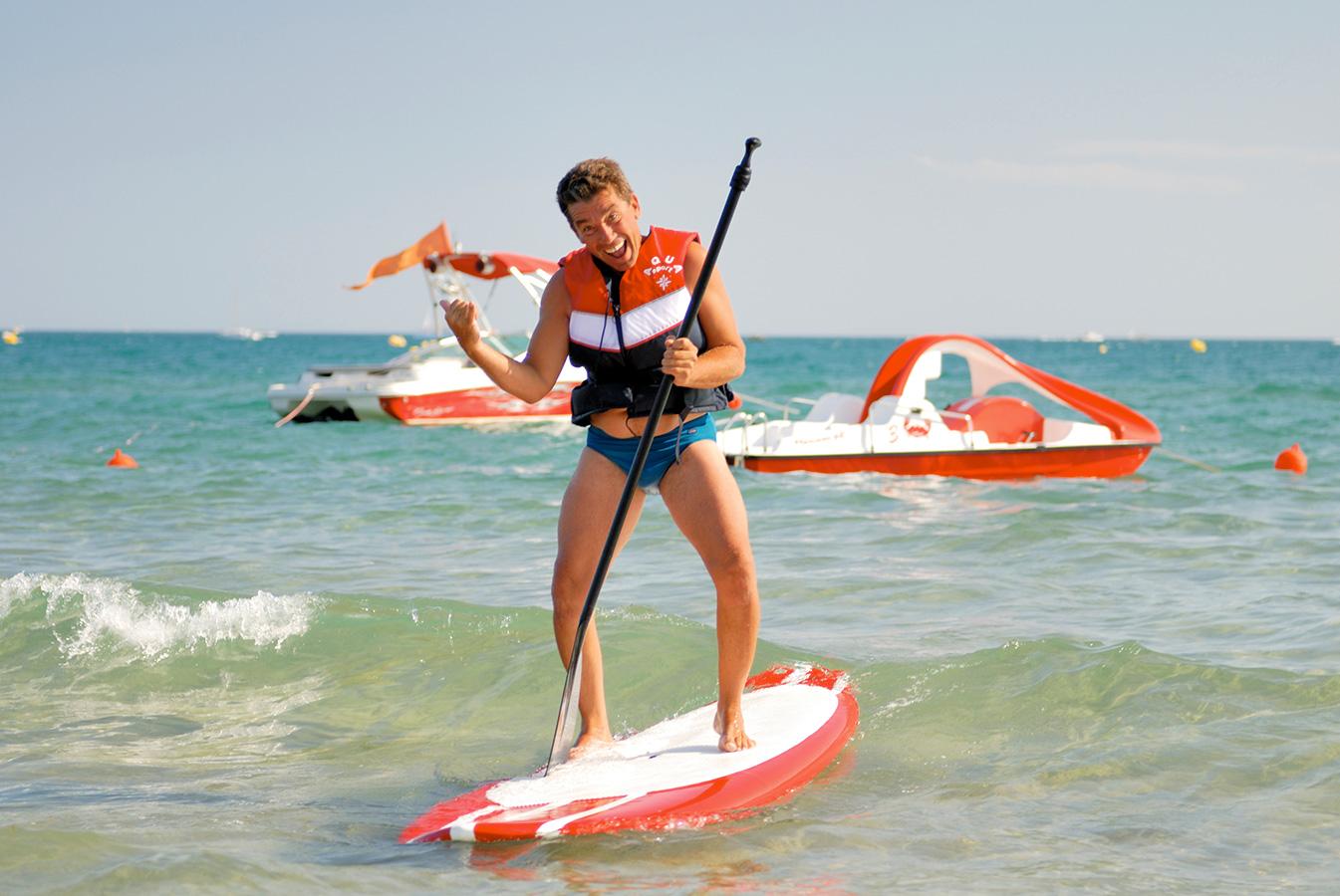 Plage privée Côté Mer - Occitanie - Hérault - Cap d'Agde - Stand Up Paddle